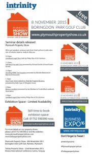 Plymouth Property Show speakers